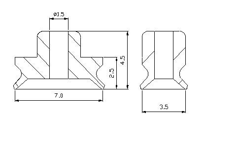 真空吸盤PFG-3.5*7