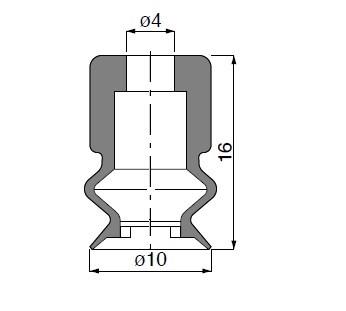 Vacuum Pads VP10B