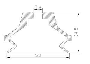 vacuum pads S2-53