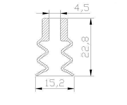 Vacuum Pads PCG-15