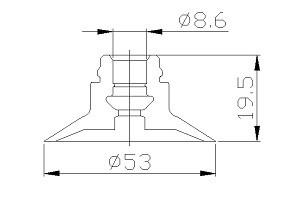 真空吸盤ZP-50C