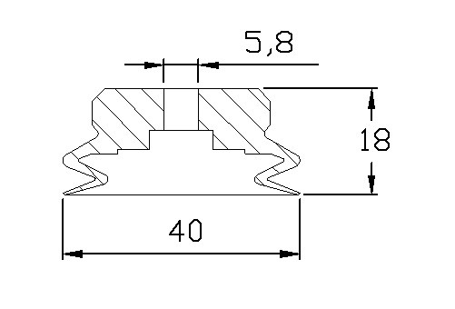 vacuum pads PJG-40