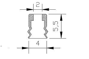 vacuum pads PJG-4