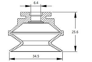 vacuum pads S2-34.5