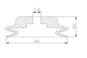 vacuum pads PJ2-60A