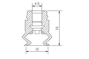 VACUUM PADS ZB2-10