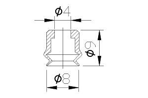 Vacuum Pads PJG-08