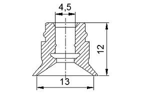 真空吸盤ZU1-13
