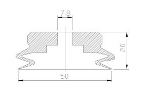 VACUUM PADS PJG-50