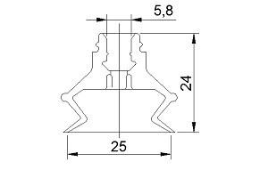 真空吸盤ZP25B