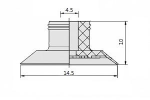真空吸盤S1-15A