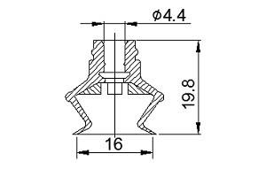 VACUUM PADS ZB2-16