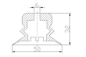 VACUUM PADS VP50B