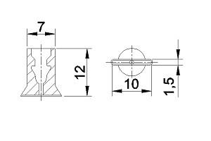真空吸盘ZU1-01.5-10