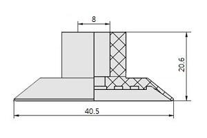 真空吸盤S1-40-SGP-40