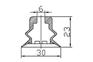 VACUUM PADS PJG-30