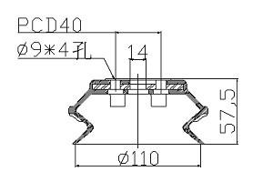 真空吸盘 PBG-110