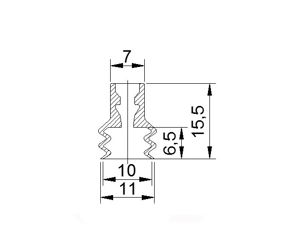 吸盤ZP2-B10J