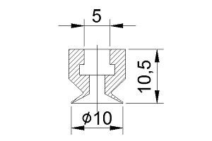吸盤JS1-10