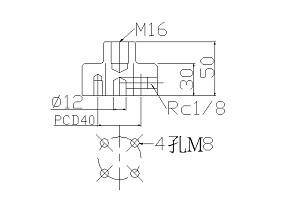 中空螺絲M16