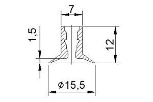 真空吸盤ZP2-14UT