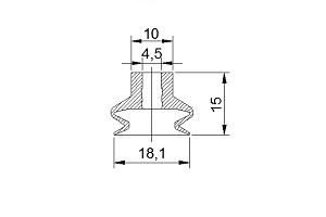 VACUUM PADS S2-20B