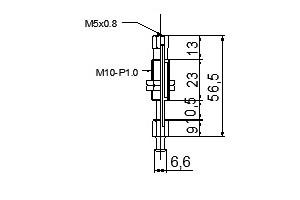 緩衝金具M8
