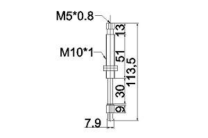 緩衝金具M10