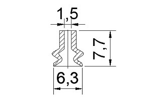 Vacuum Pads S2-06B