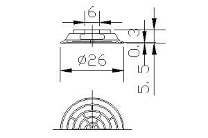 真空吸盤ZT1-25