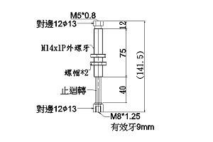 Shock absorber M14
