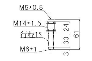 TB6J15B5A14-61L