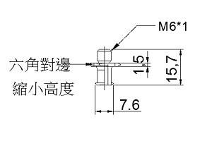 短牙ZPT-32-A6-6L