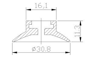 真空吸盤 S1-30