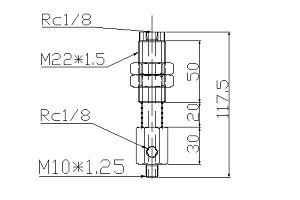 緩衝金具TA10J10B01A22-117L