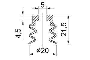 真空吸盘S3-20