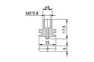 螺絲 TN-VE-B5L(雙層20mm以上專用)