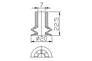 真空吸盤PNG-130B