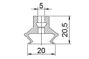 真空吸盤S2-20C