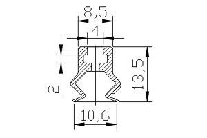真空吸盤 PB2-10A
