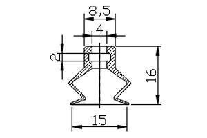 真空吸盤 PB2-15A