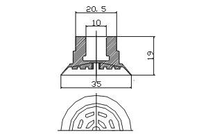 真空吸盤 ZP1-35PT