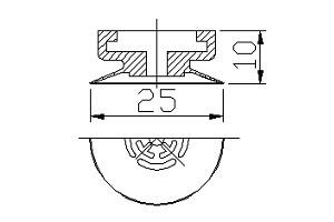 真空吸盤 PA1-25