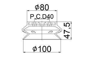 真空吸盤 ZH2-100